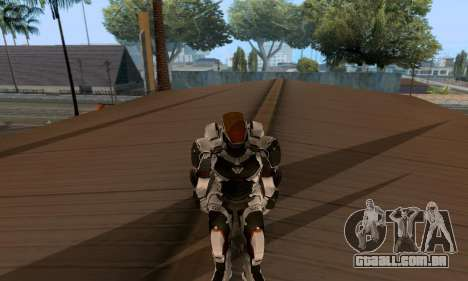 Skins Pack - Iron man 3 para GTA San Andreas