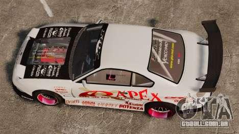 Nissan S330SX GT para GTA 4 vista direita