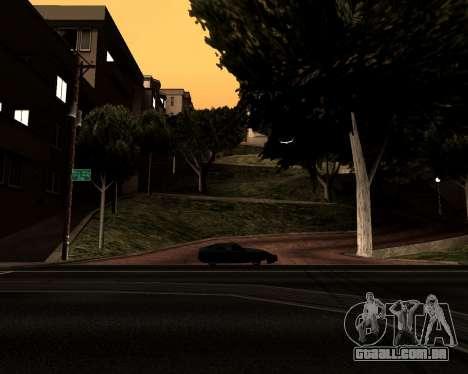 Satanic Colormode para GTA San Andreas por diante tela