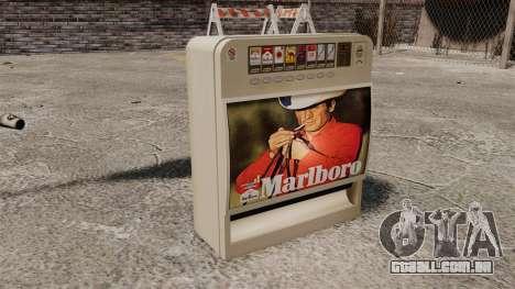 Nova máquina de vending vender cigarros para GTA 4 terceira tela