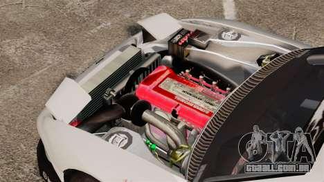 Nissan S330SX GT para GTA 4 vista de volta