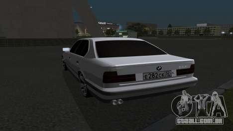 BMW 535i para GTA San Andreas vista direita