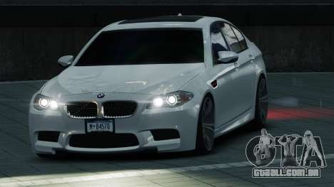 BMW M5 2012 para GTA 4