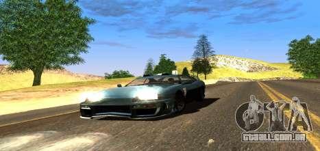 ENB Graphic Mod para GTA San Andreas quinto tela
