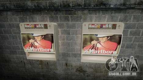 Nova máquina de vending vender cigarros para GTA 4