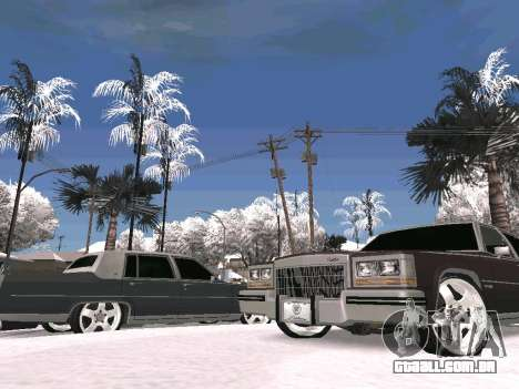 Winter Color Mod para GTA San Andreas