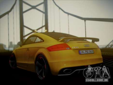 Audi TT RS 2013 para GTA San Andreas esquerda vista