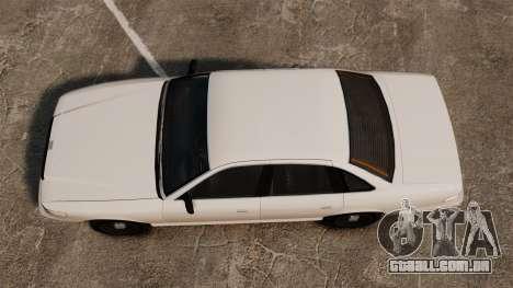 Um táxi civil para GTA 4 vista direita