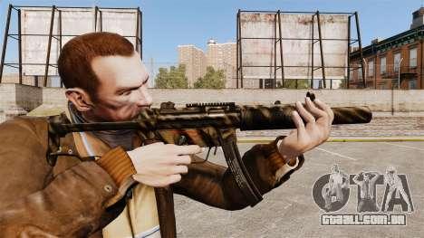 Pistola-metralhadora MP5SD V8 para GTA 4