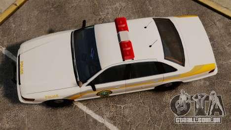 Polícia Quebec para GTA 4 vista direita