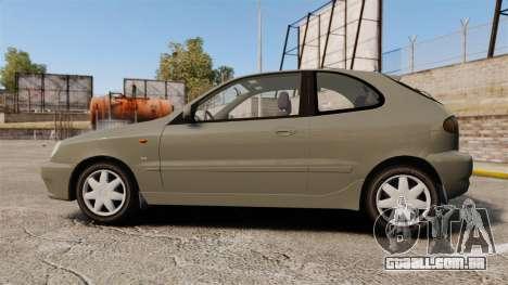 Daewoo Lanos FL 2001 para GTA 4 esquerda vista