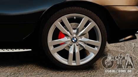 BMW X5 4.8iS v1 para GTA 4 vista de volta