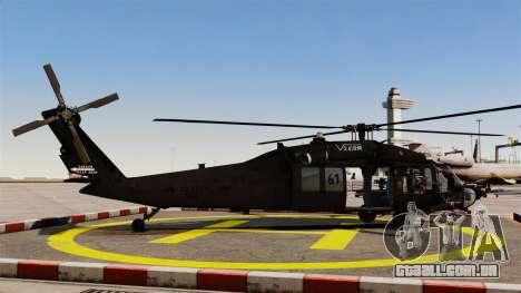 Sikorsky MH-60L Black Hawk para GTA 4 esquerda vista