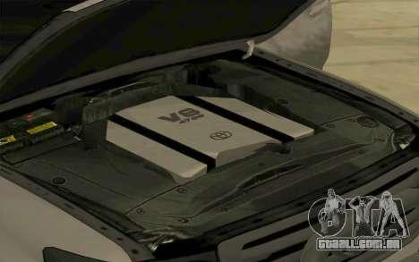 Toyota Land Cruiser 200 para GTA San Andreas vista interior