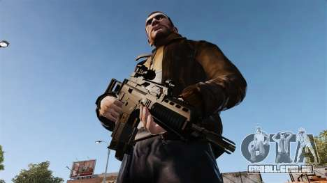 Fuzil de assalto HK G36k para GTA 4 terceira tela