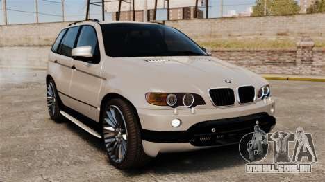 BMW X5 4.8iS v2 para GTA 4