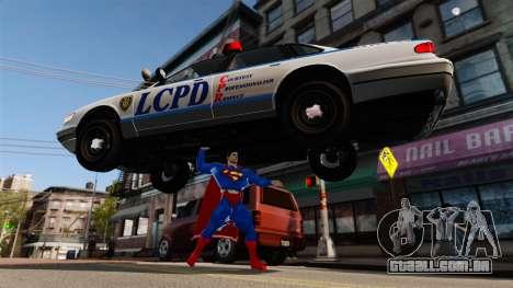 Script para o Super-homem para GTA 4 nono tela