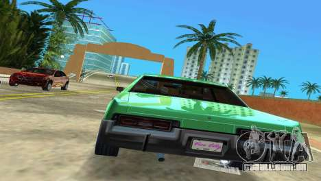 Dodge Monaco Police para GTA Vice City vista direita