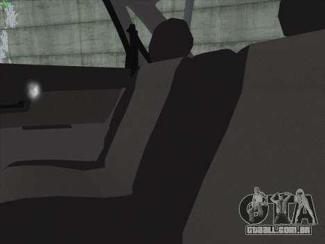 VAZ-2170 para GTA San Andreas interior