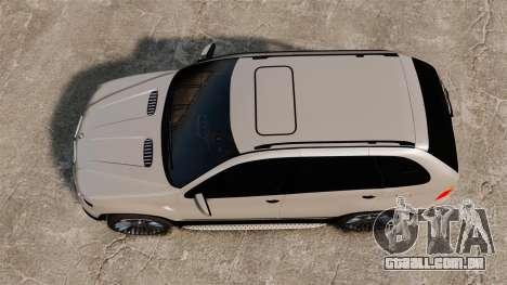BMW X5 4.8iS v2 para GTA 4 vista direita