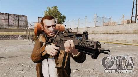HK G36c para GTA 4 terceira tela