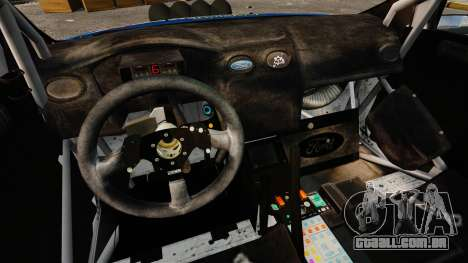 Ford Focus RS Martini WRC para GTA 4 vista interior