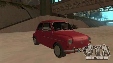 Zastava 750 Fico para GTA San Andreas esquerda vista