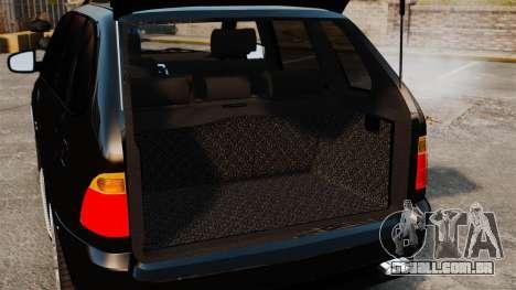 BMW X5 4.8iS v1 para GTA 4 vista lateral