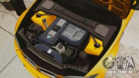 BMW 1M Coupe 2011 Fujiwara Tofu Shop Sticker para GTA 4 vista lateral
