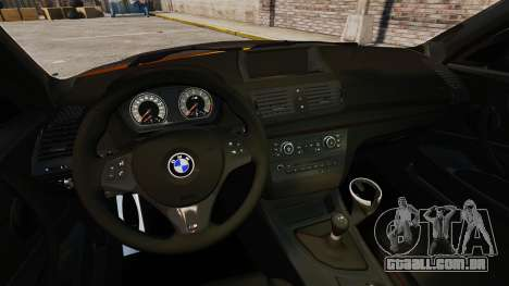 BMW 1M Coupe 2011 Fujiwara Tofu Shop Sticker para GTA 4 traseira esquerda vista