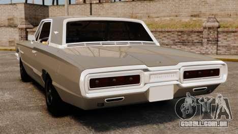 Ford Thunderbird 1964 para GTA 4 traseira esquerda vista
