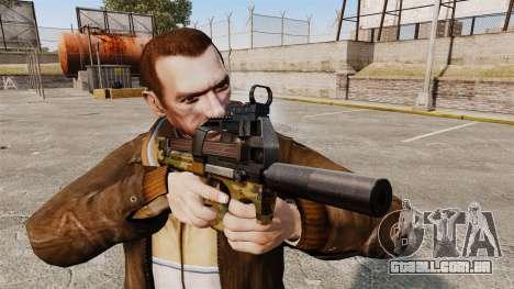 V5 de pistola-metralhadora belga FN P90 para GTA 4 terceira tela