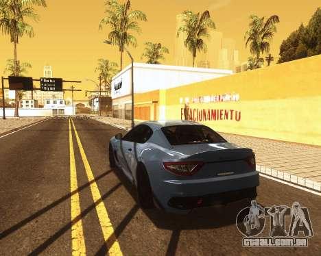 ENB for low PC v2 para GTA San Andreas terceira tela