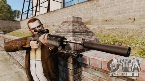 M21 sniper rifle v1 para GTA 4 terceira tela