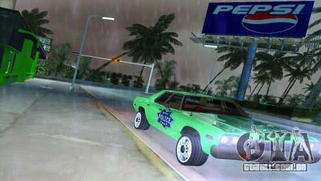 Dodge Monaco Police para GTA Vice City vista traseira
