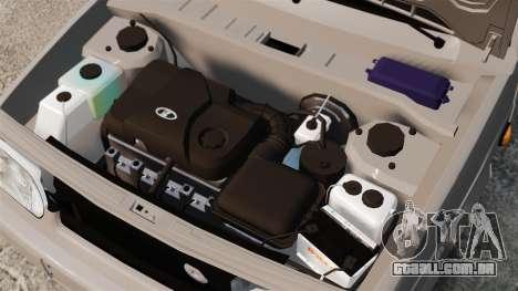 Bunker Vaz-2114 para GTA 4