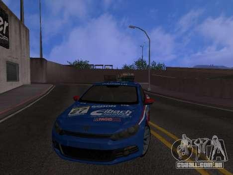 Volkswagen Scirocco para GTA San Andreas vista inferior