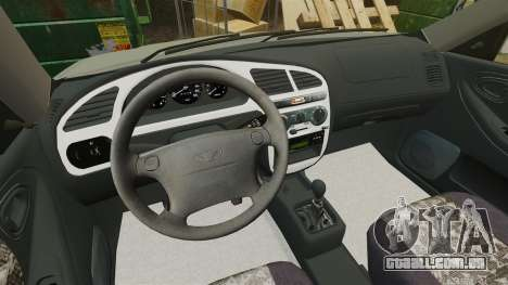 Daewoo Lanos FL 2001 para GTA 4 vista lateral