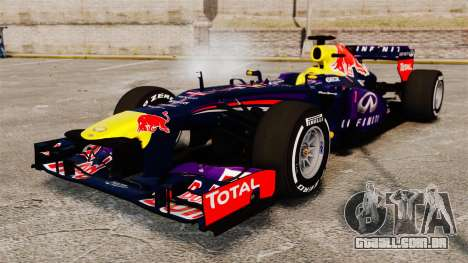 Carro, Red Bull RB9 v4 para GTA 4
