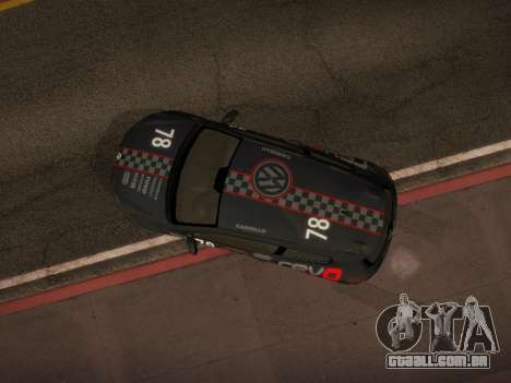 Volkswagen Scirocco para o motor de GTA San Andreas