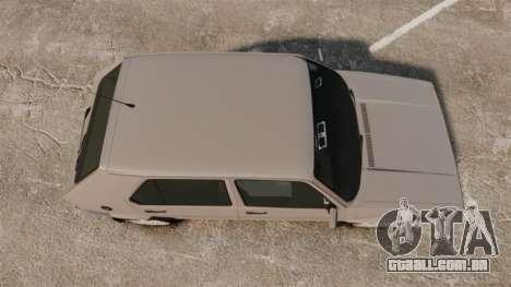 Volkswagen Citi Golf Velociti 2008 para GTA 4 vista direita
