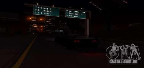 ENB Graphic Mod para GTA San Andreas oitavo tela