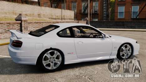 Nissan Silvia S15 v1 para GTA 4 esquerda vista