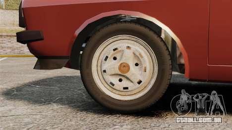 Dacia 1310 Sport v1.1 para GTA 4 vista de volta