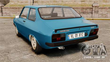 Dacia 1310 Sport v1.2 para GTA 4 traseira esquerda vista