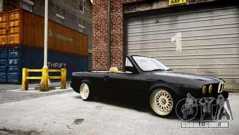 BMW M3 E30 Cabrio Stanced para GTA 4