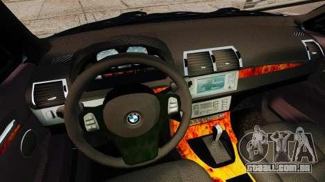 BMW X5 4.8iS v1 para GTA 4 vista superior