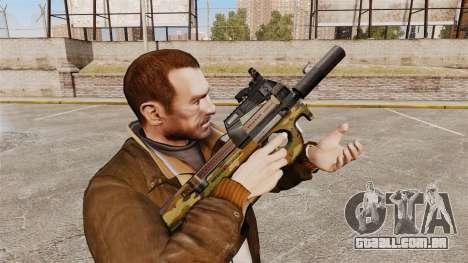 V5 de pistola-metralhadora belga FN P90 para GTA 4