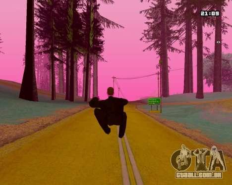 Pink NarcomaniX Colormode para GTA San Andreas por diante tela