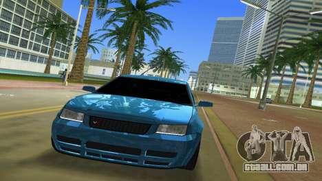Volkswagen Bora para GTA Vice City vista traseira